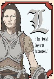 Lydia Mini Poster